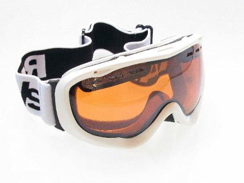 Ravs Skibrille Snowboardbrille Antifog Helmkompatibel Kontrastverstärkt