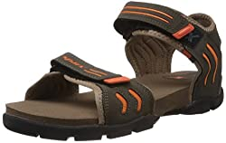 Sparx Mens Olive Green Sandals and Floaters - 6 UK