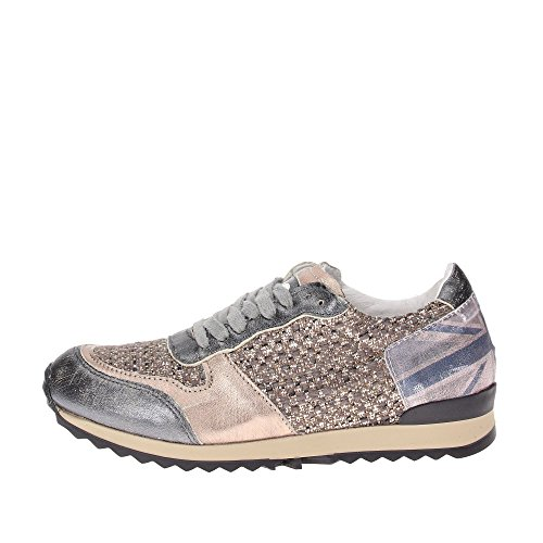 Y NOT - Scarpe donna SNEAKERS - Stampa bandiera UK (39)