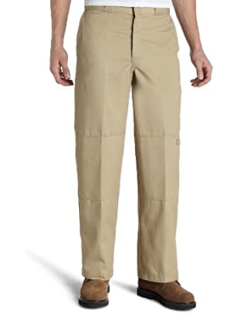 85-283 Dickies Loose Fit Double Knee Work Pant KHAKI 28X30