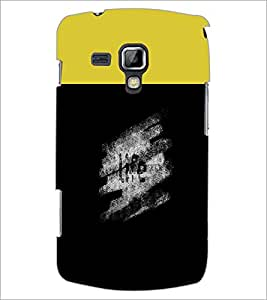 PrintDhaba Quote D-3749 Back Case Cover for SAMSUNG GALAXY S DUOS S7562 (Multi-Coloured)