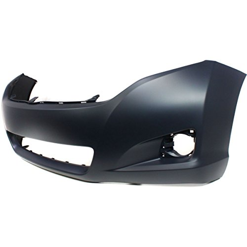 Diften 105-A5802-X01 - New Bumper Cover Front Primered Toyota Venza 2011 2010 TO1000354 521190T900 (2010 Ford Escape Bumper Cover compare prices)