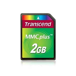 Transcend 2 Go Carte mémoire multimédia MMC TS2GMMC4