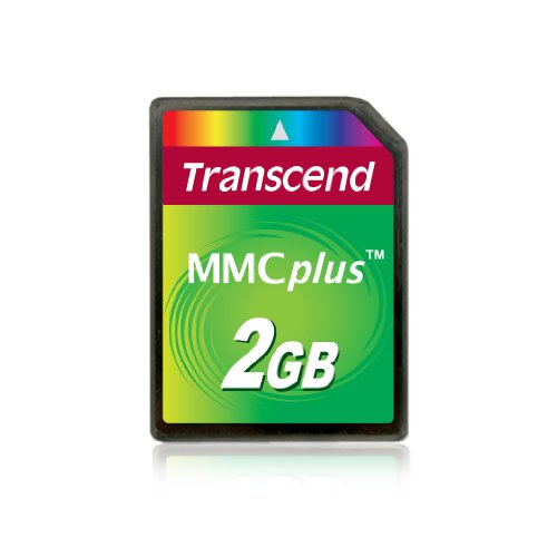 Review Transcend 2 GB MMCplus Flash Memory Card TS2GMMC4