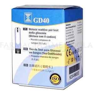 Strisce Reattive Glicemia GD40 - Bruno