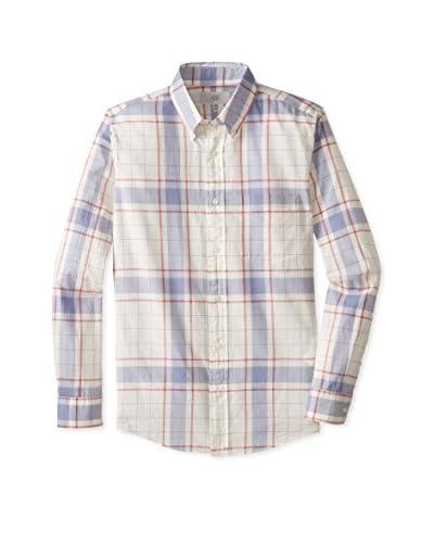 Jack Spade Men's Draftsman Plaid Shirt