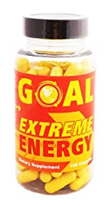 Goal Extreme Energy Pills - Best Natural Energy Vitamins - Energy Booster Supplement Capsules For Women And Men - Fat Burners That Work Fast from GOAL Corp