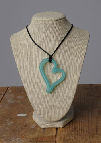 Teethease Heart Pendant - Jade