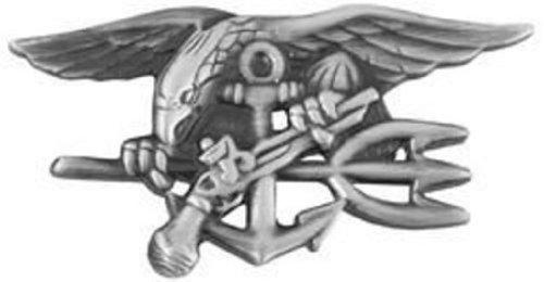 Us Navy Seal Badge  (Large, Antique Finish)