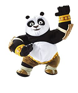 mattel m7560 peluche kung fu panda peluche sonore po jeux et jouets. Black Bedroom Furniture Sets. Home Design Ideas