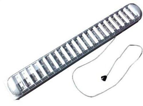 Lampada di emergenza ricaricabile portatile 63 led bianco for Lampada led lunga