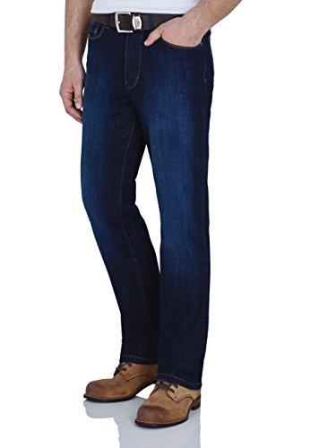 Paddock`s Herren Jeans Ranger - Slim Fit - Blau - Blue/Black Stone Soft Using, Größe:W 38 L 34;Farbe:Blue Dark Stone Soft Using (5426)