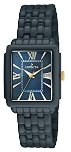 Invicta 14584 Womens Ceramic Rectangualr Quartz Bracelet Watch