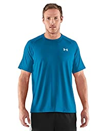 "Under Armour Men\'s UA Techâ""¢ Short Sleeve T-Shirt Extra Extra Large PIRATE BLUE"