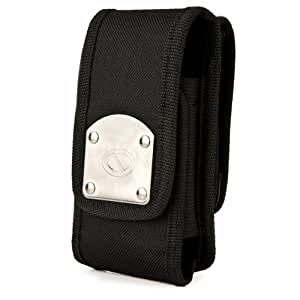 Nz Black Gladiator Xl Series Durable Holster Carrying Case With 2 Swivel Belt Clips