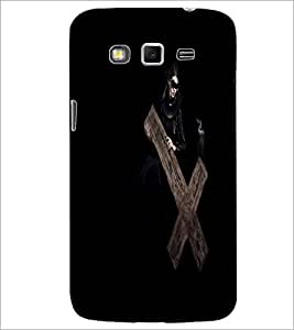 PrintDhaba Cross D-2136 Back Case Cover for SAMSUNG GALAXY GRAND 2 (Multi-Coloured)