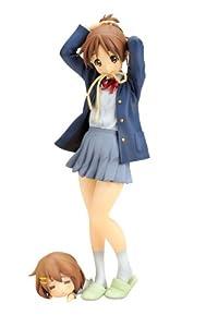 K-ON! 1/8 PVC Statue / Figur: Ui Hirasawa (inklusive Yui als Deformed Figure)