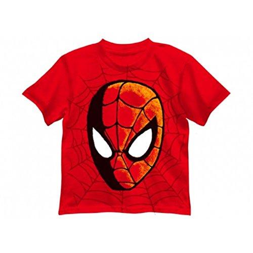 Marvel's Spiderman Little Boy's Red/Glow in the Dark T-Shirt (size 4)