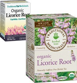 Organic Licorice Root Tea - Traditional Medicines