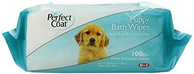 8in1 Perfect Coat Bath Wipes Tub