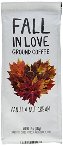 Paramount Coffee Flavored Fall In Love Vanilla Nut Cream, Ground, 12 Ounce (Cream Nut compare prices)
