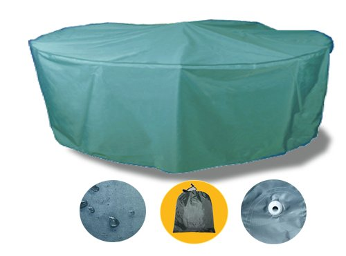 Runde Abdeckhaube Durchmesser 188cm Gartenmöbel Wasserdicht Gartengarnitur Schutzhülle GHS05N günstig online kaufen