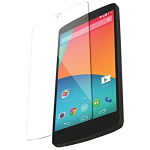 SNOOGG Pack 6 LG NEXUS 5Full Body Tempered Glass Screen Protector [ Full Body Edge to Edge ] [ Anti Scratch ] [ 2.5D Round Edge] [HD View] - White