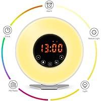 Kitchenismo Wake Up Light Alarm Clock / Digital Clock
