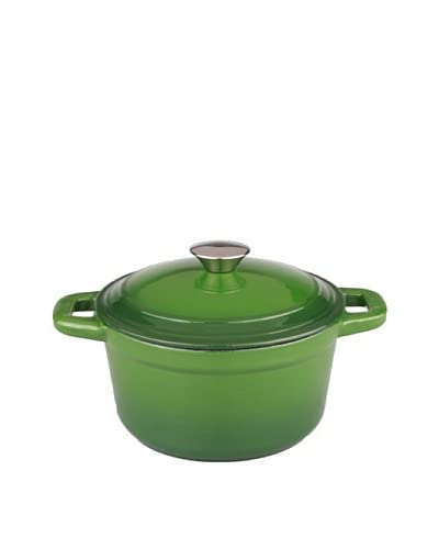 BergHOFF Neo Cast Iron Stockpot with a Lid, Green, 5-Qt.