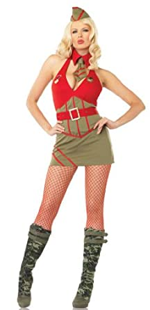 Major Diva Army Military Costume 83527