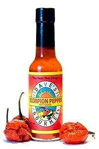 (Daves Gourmet Scorpion Hot Sauce 5 oz. Bottle)