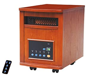 Source Network Discovery 1200 Square Foot 6 Element Infrared Quartz Heater