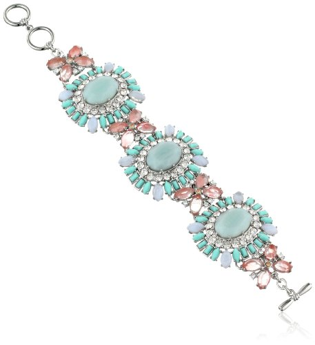 "Carolee LUX ""Cotton Candy"" Drama Flex Bracelet"