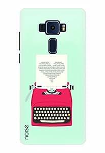 Noise Designer Printed Case / Cover for ASUS ZENFONE 3 ZE520KL 5.2 Inch screen size / Patterns & Ethnic / Love Typewriter Design