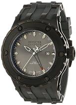 meet b76e1 54ef8 Invicta Men s 12054 Subaqua Reserve Silver Grey Dial Grey Rubber Watch