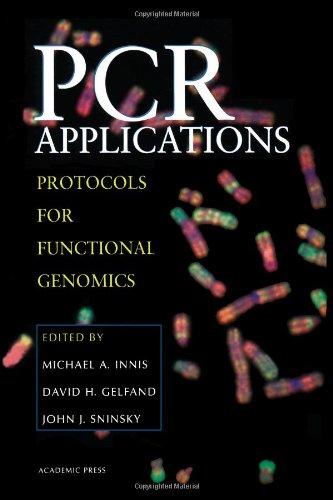 Pcr Applications: Protocols For Functional Genomics