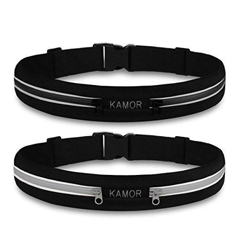 2 pack kamor superior water resistant running belts. Black Bedroom Furniture Sets. Home Design Ideas