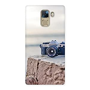Cute Vintage Camera Multicolor Back Case Cover for Huawei Honor 7