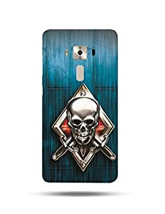 alDivo Premium Quality Printed Mobile Back Cover For Asus Zenfone 3 Deluxe ZS570KL / Asus Zenfone 3 Deluxe ZS570KL Back Case Cover (MKD046)
