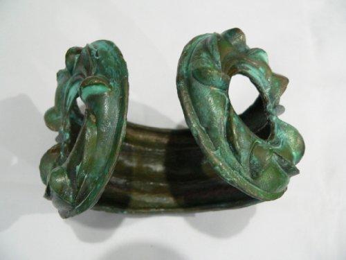 Historic Jewellery Reproduction Bronze - Massive Bronze Celtic Bangle - Unisex
