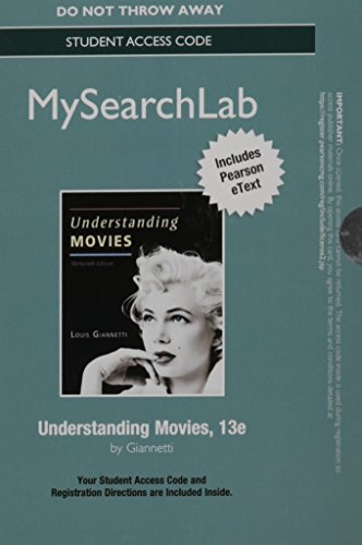 Understanding movies giannetti 13th edition