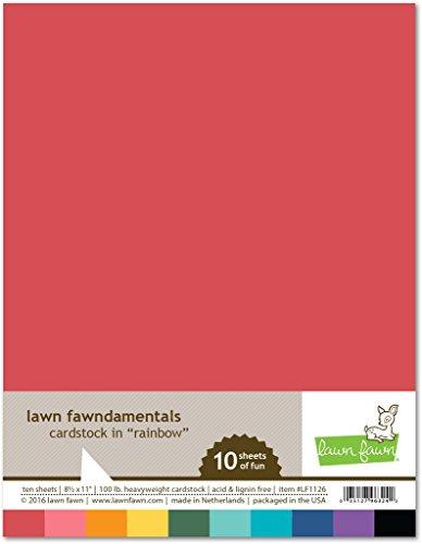 lawn-fawn-cardstock-85-x-11-10-pk-rainbow
