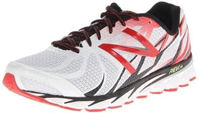 New Balance Men's M3190 Running Shoe,White/Red,11.5 D US