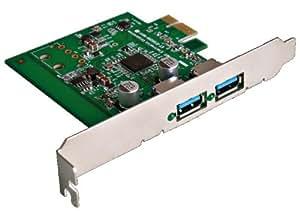 DECA PCIe接続 USB3.0×2ポート増設カード DCD-PCIEU3P2