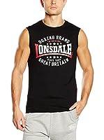 Lonsdale Camiseta Tirantes St.Agnes (Negro)