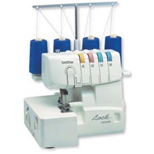Brother Sewing 3 Or 4 Thread Serger With Easy Lay In / 1034D /