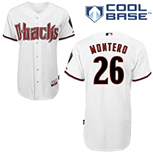 Miguel Montero Arizona Diamondbacks Home Authentic Cool Base Jersey by Majestic by Majestic