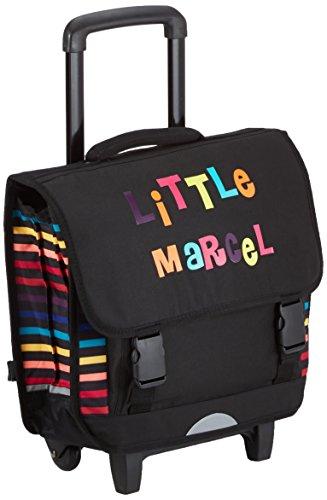 Little Marcel Zaino Scuola, NOIR LITTLE (Nero) - H15ABAG0661