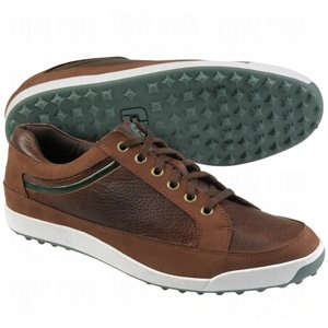 Very Cheap Footjoy Discount Footjoy Mens Contour Casual Spikeless Golf Shoes Dk Brown Green 9 1 2