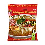 サイゴンラーメン ピリ辛 レモングラス風味 10袋 セット (インスタント ラーメン) (乾麺 即席麺 香菜 ベトナム料理)